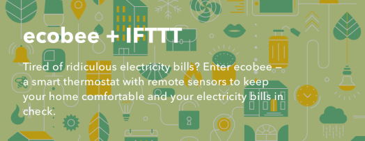 ecobee + IFTTT