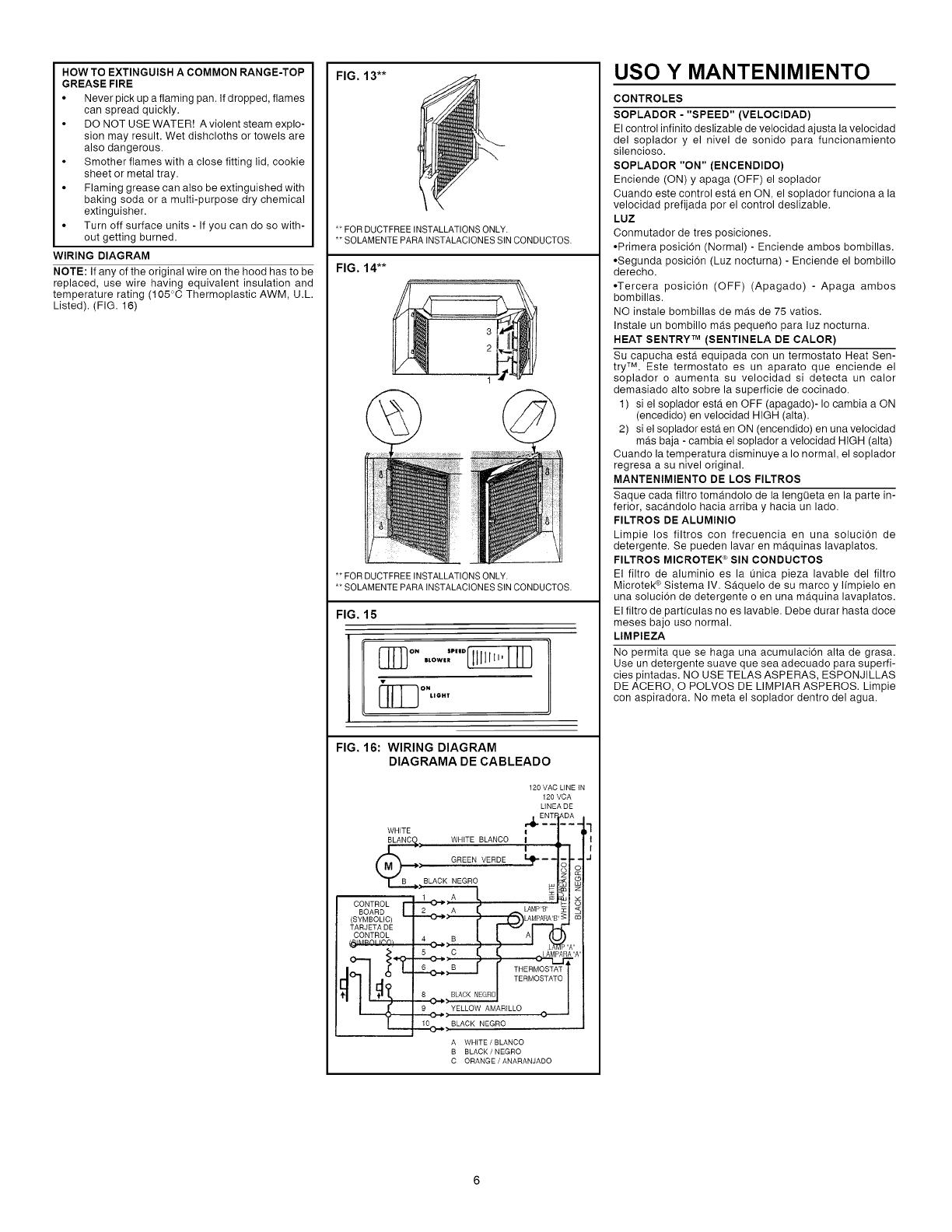 Broan User Manual Range Hood Manuals And Guides