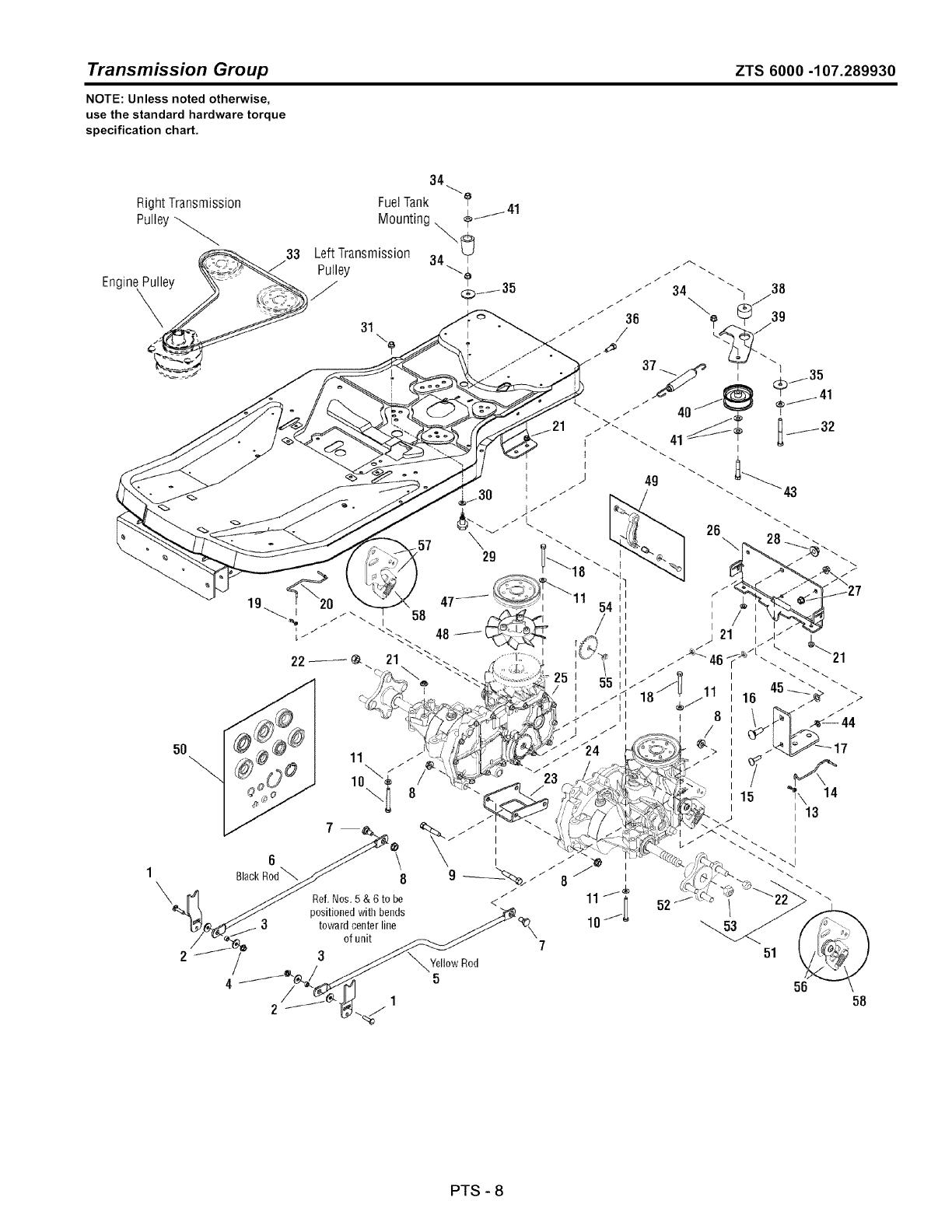 Craftsman User Manual Zero Turn Rear Engine