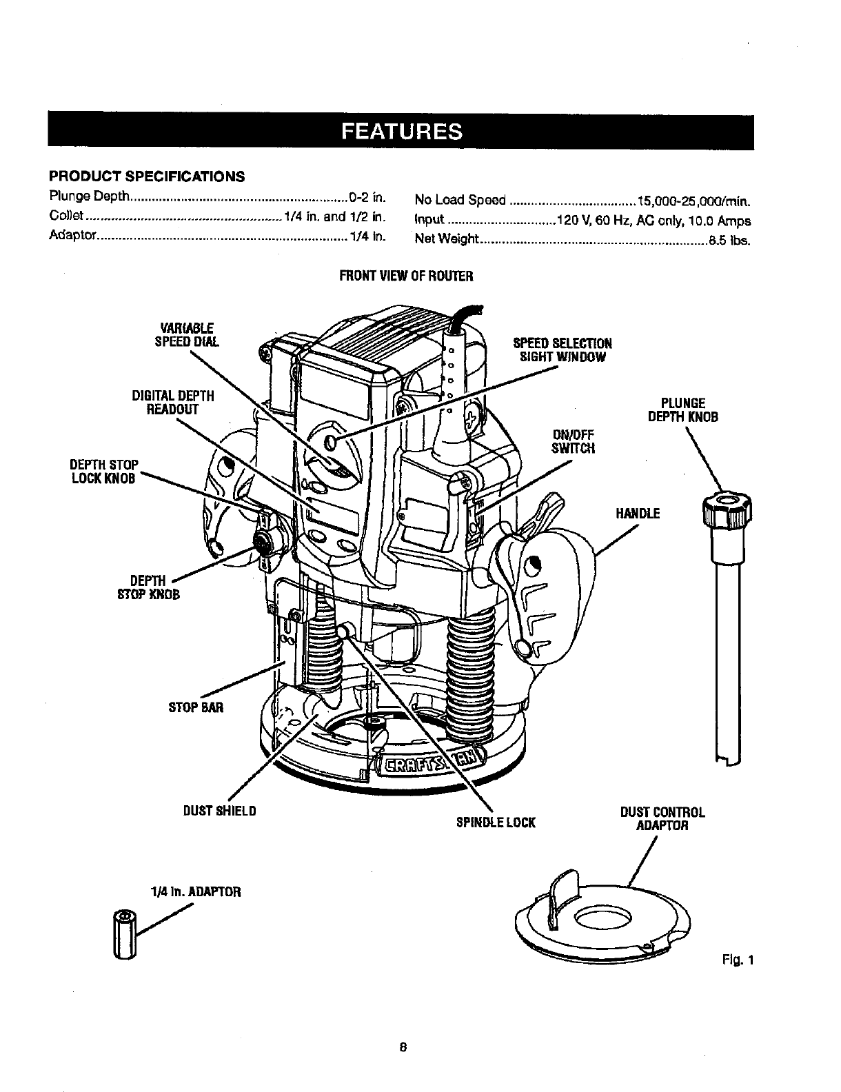 Craftsman User Manual Router Manuals And Guides