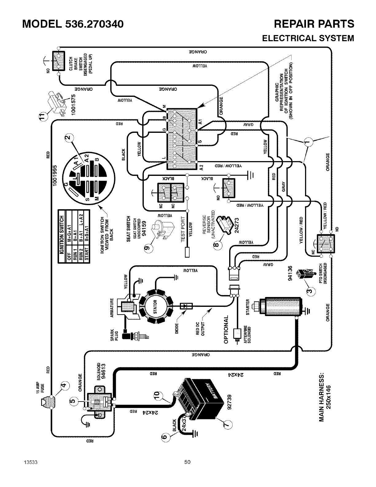 Craftsman User Manual Mid Engine Rider Manuals