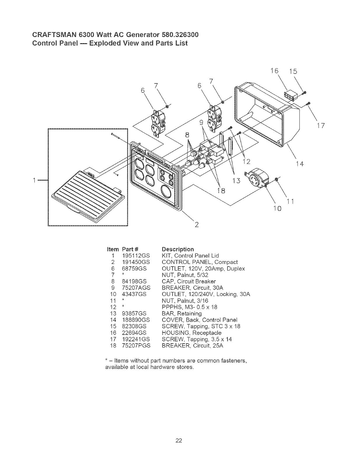 Craftsman User Manual Generator Manuals And