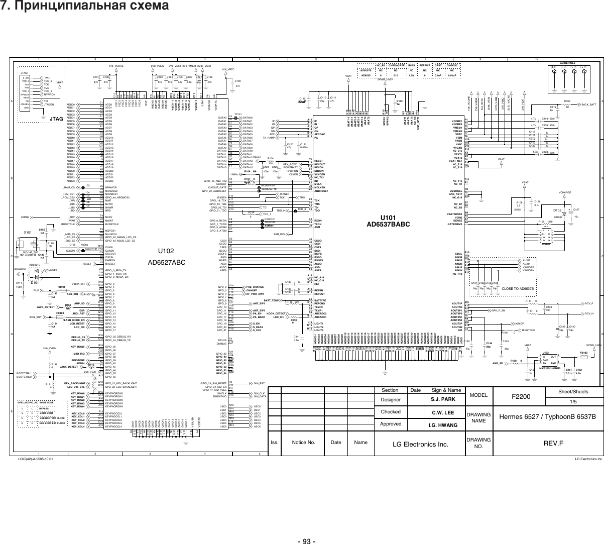 Lg F Schematics S Manuals Schematics