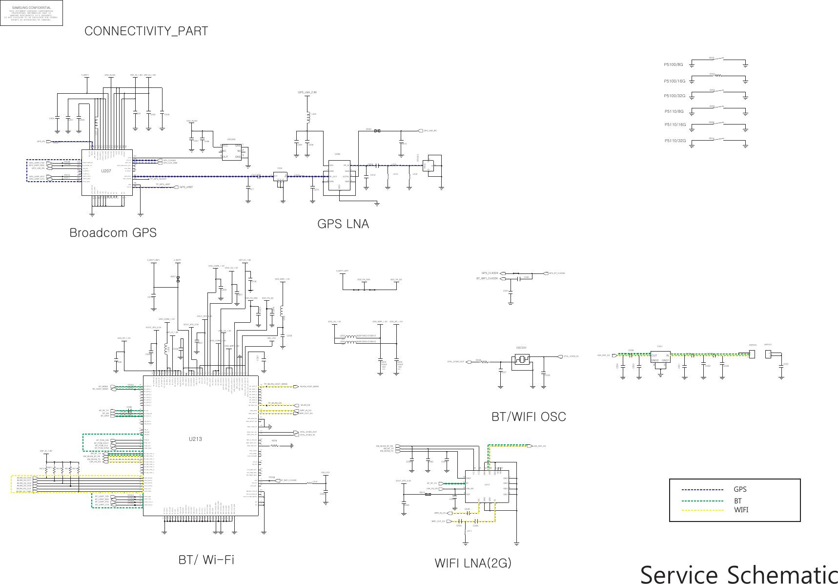 Samsung Gt P Schematics S Manuals Service