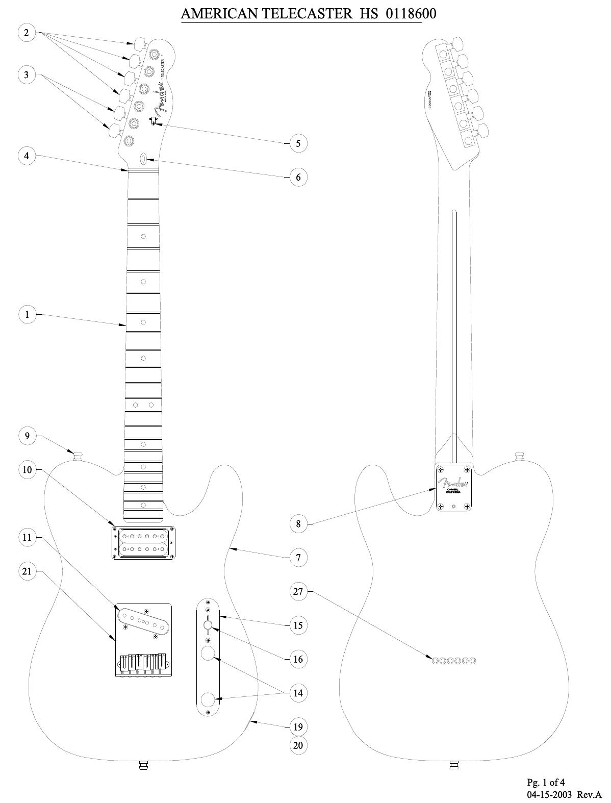 Hs Telecaster Wiring Diagram