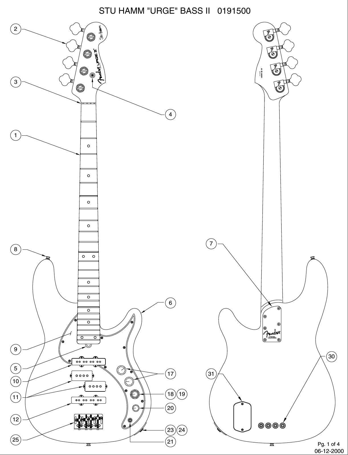 Fender 019 A Sisd