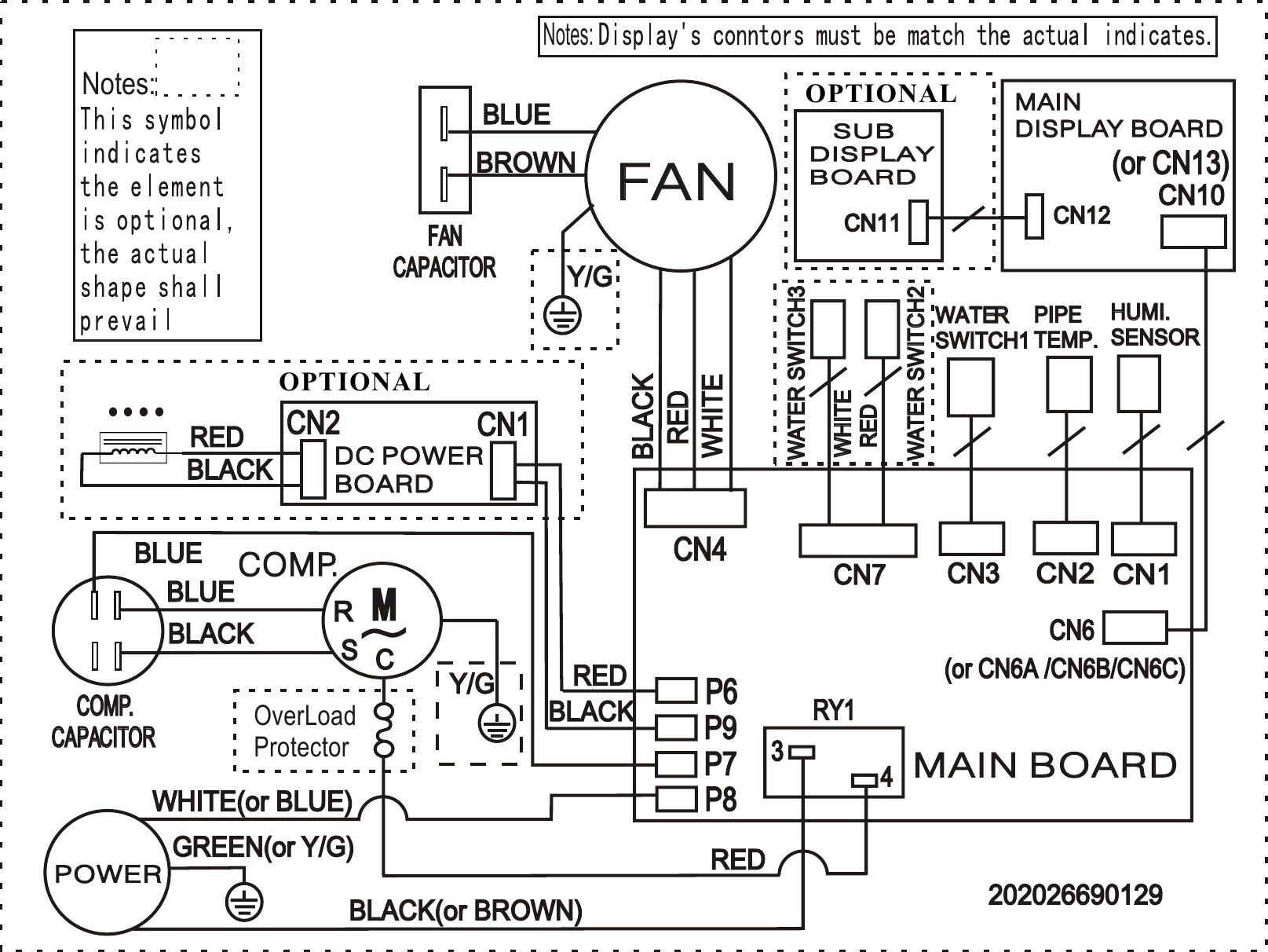 Frigidaire Fad504dwd Wiring Diagram Elus Cfz1 0bd N1 Fa D