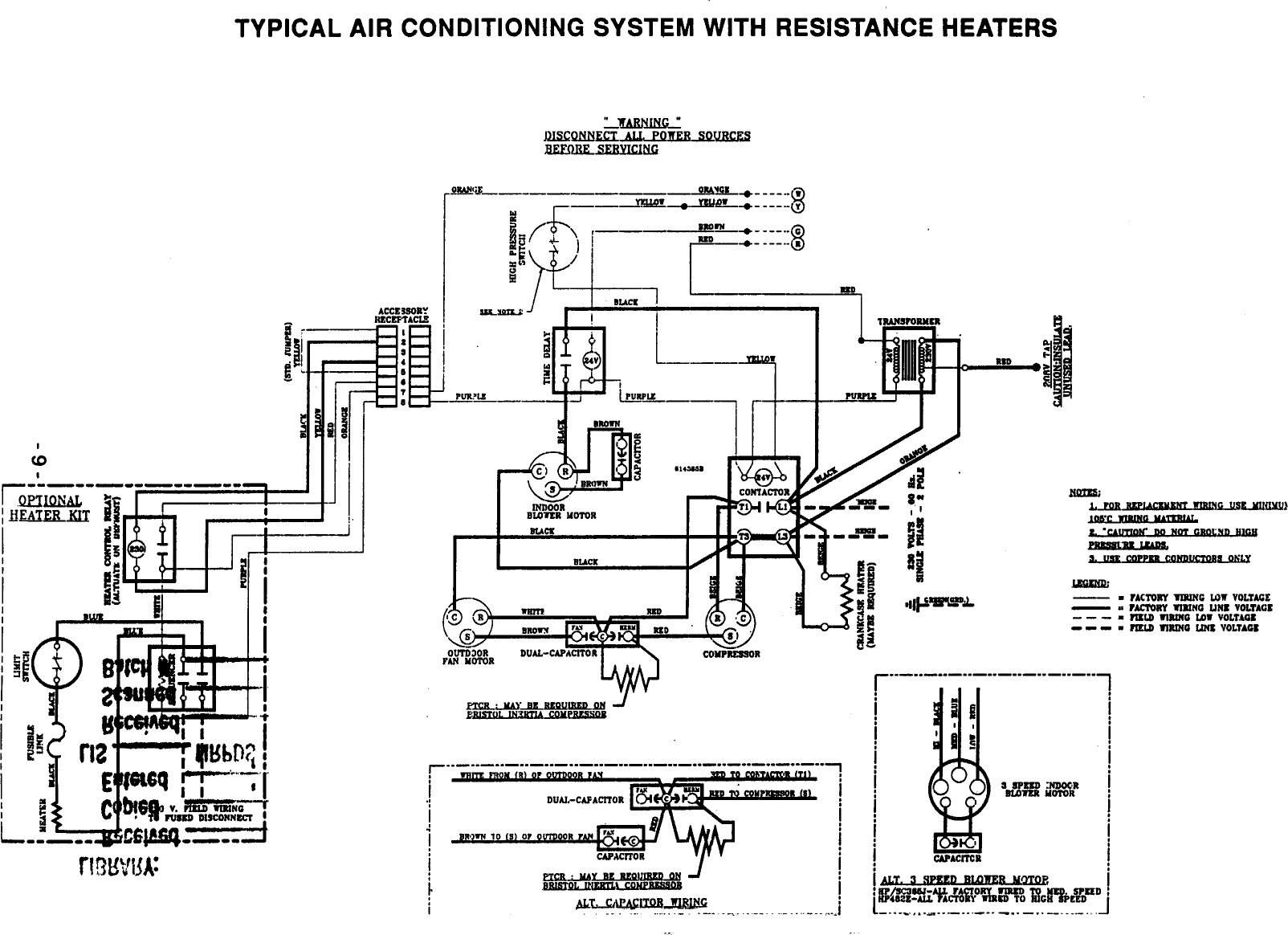 Heat Pump Wiring Diagram