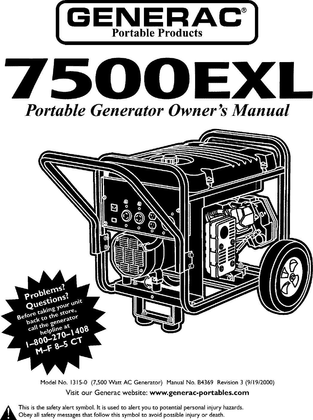 Generac 0 User Manual Generator Manuals And Guides