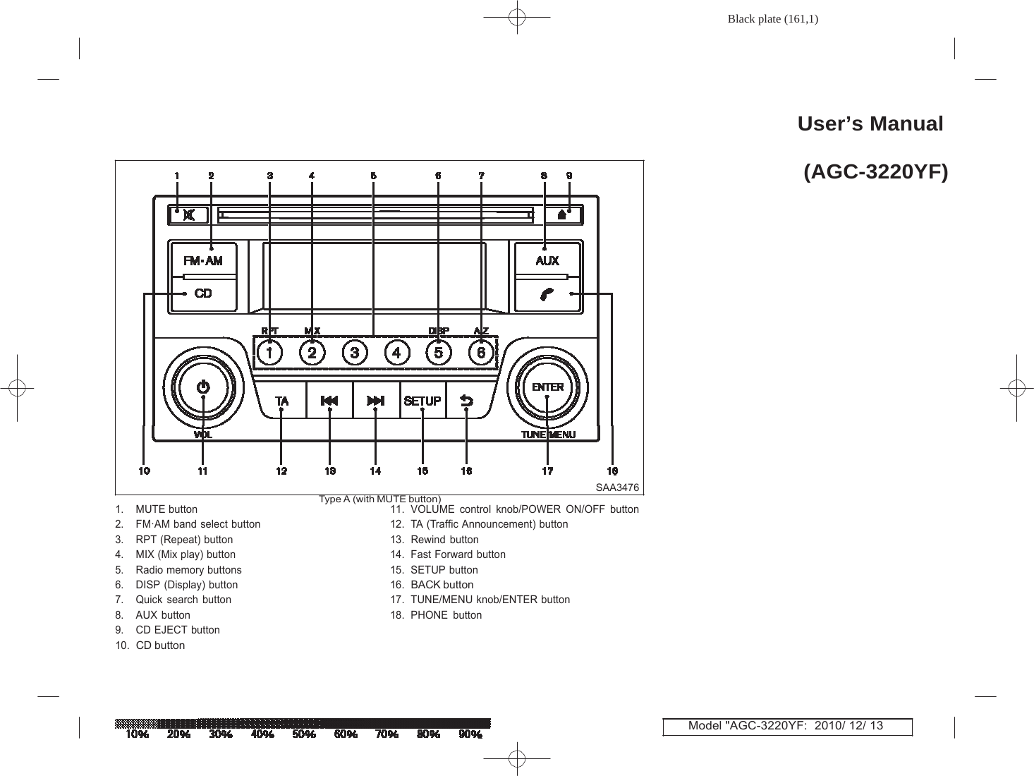 Humax Agc Yf Car Audio User Manual Agc Yf Revx