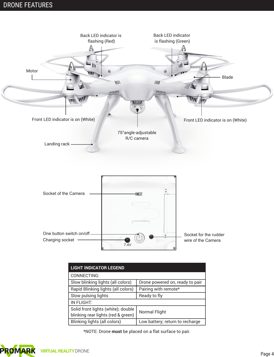Import Solutions P70vrd Vr Drone User Manual Vr Im