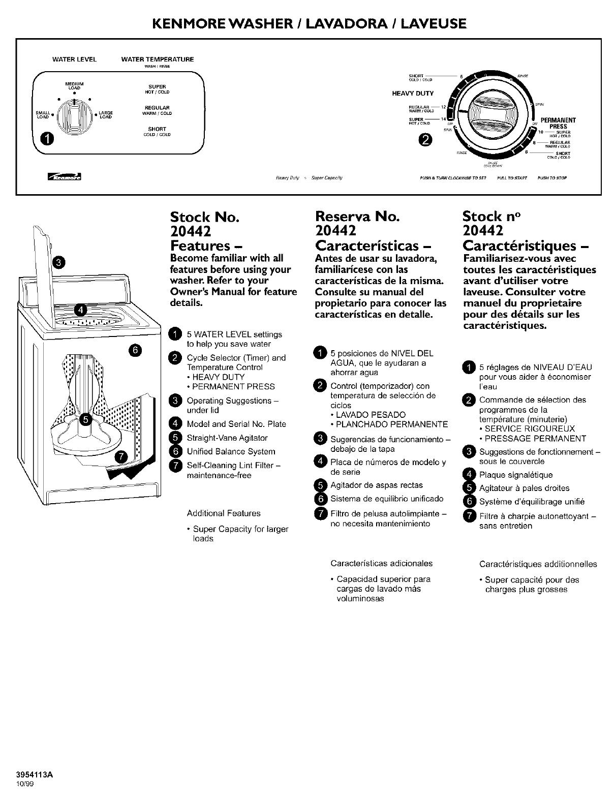 Kenmore Manual