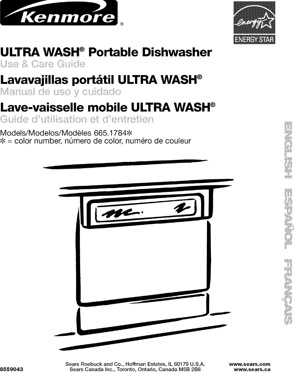 Kenmore User Manual Dishwasher Manuals And