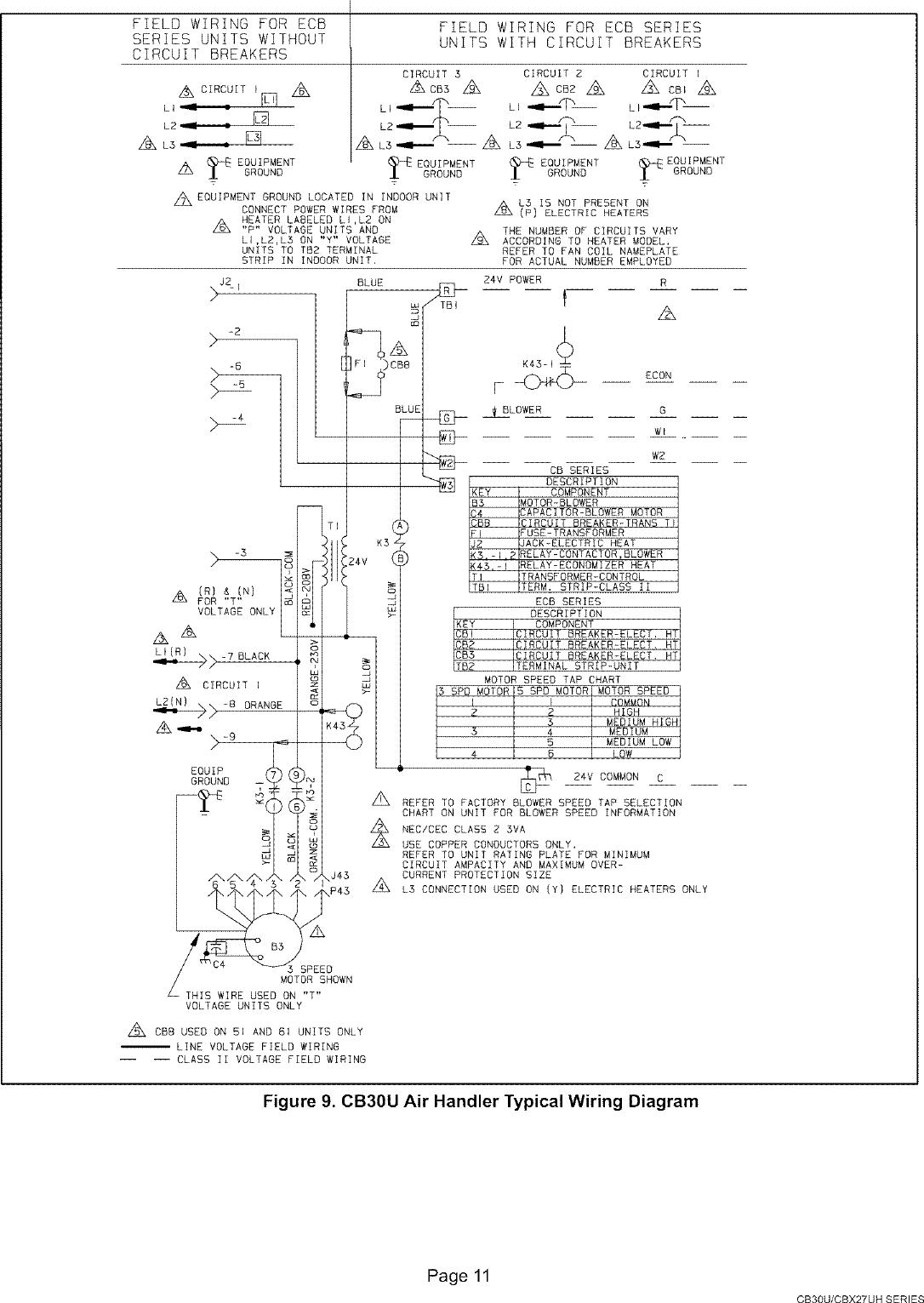 Lennox Air Handler Wiring Diagram
