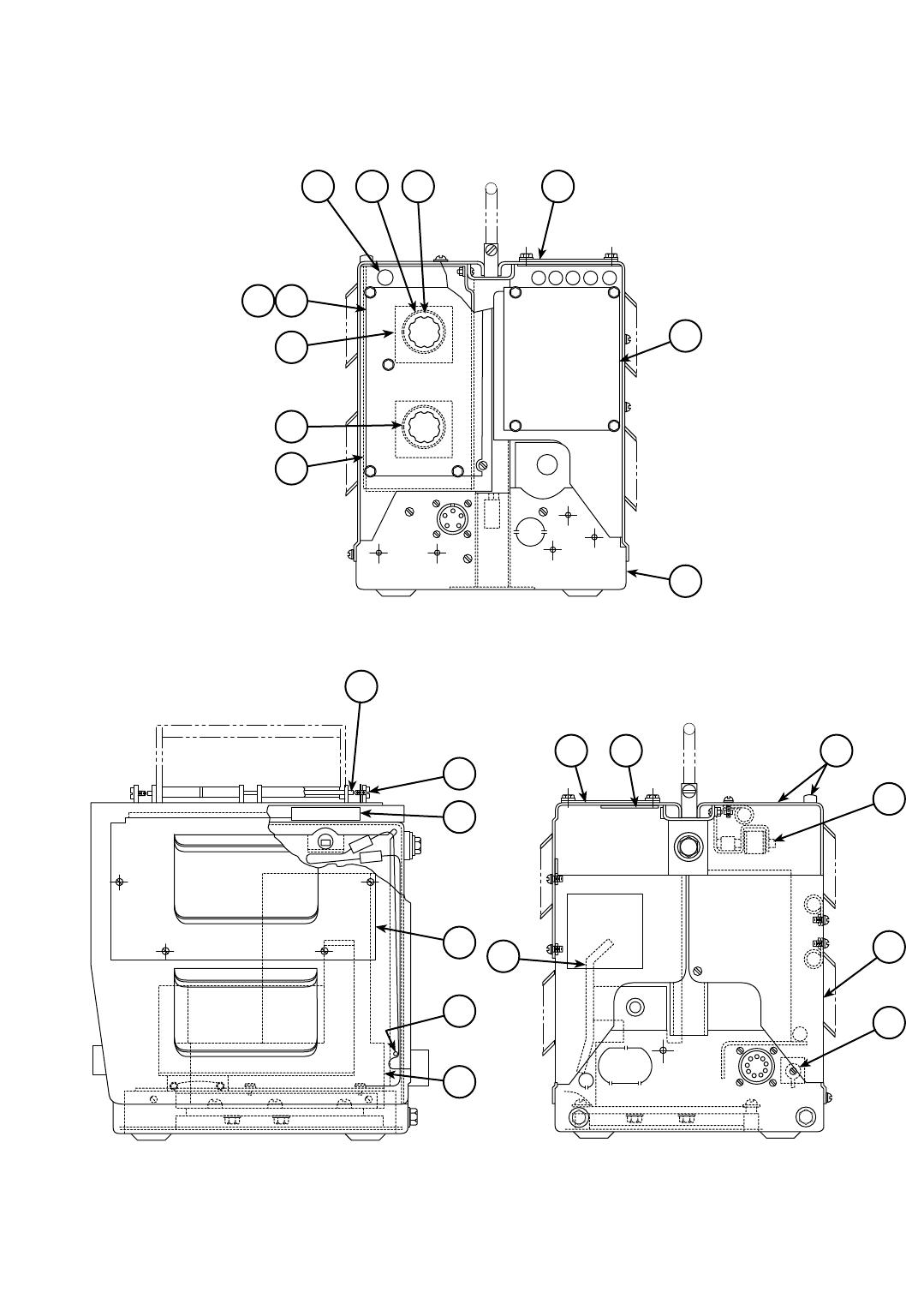 Ln 8 wire feed unit
