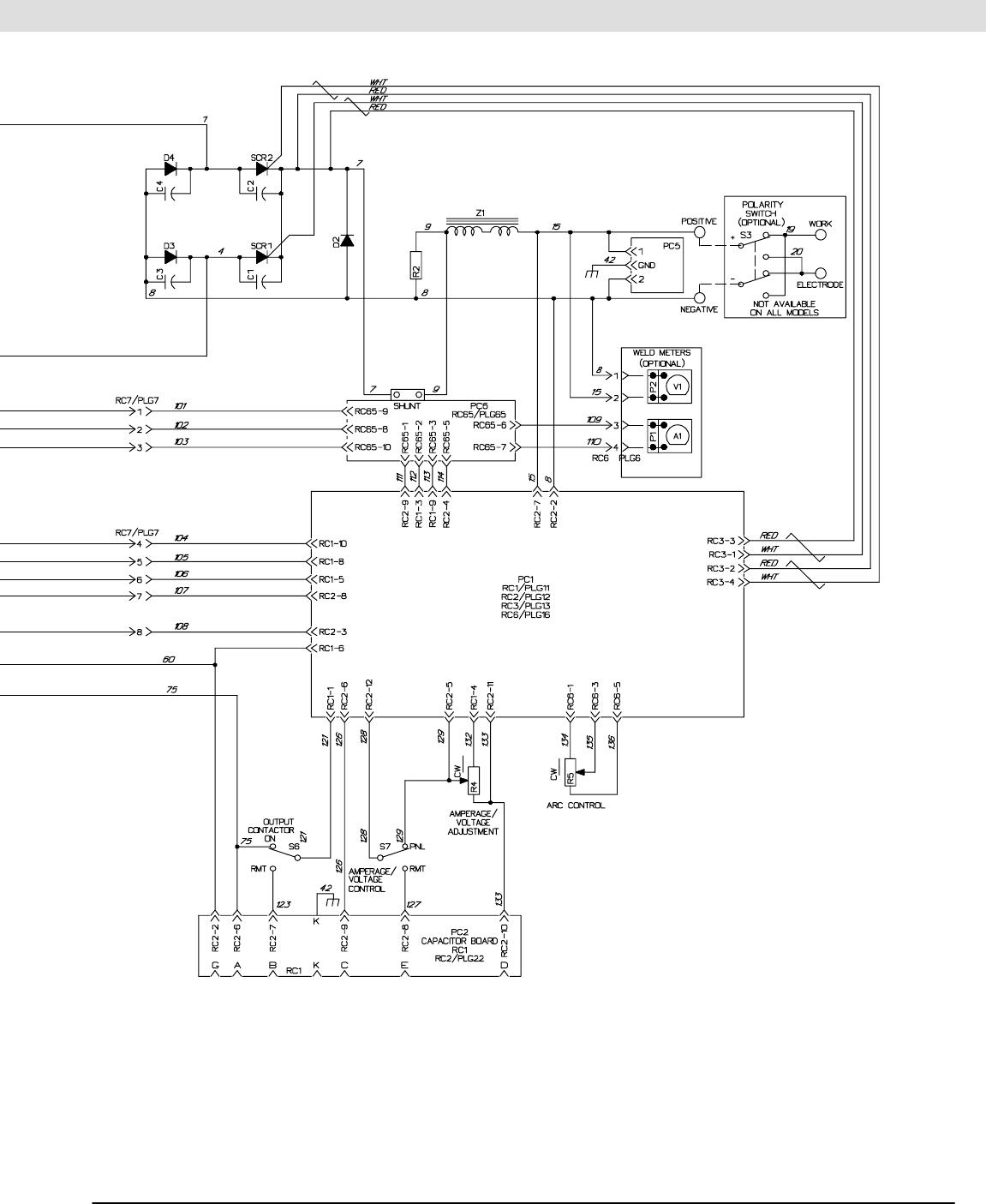 8 1 circuit diagram for welding generator 35om 402