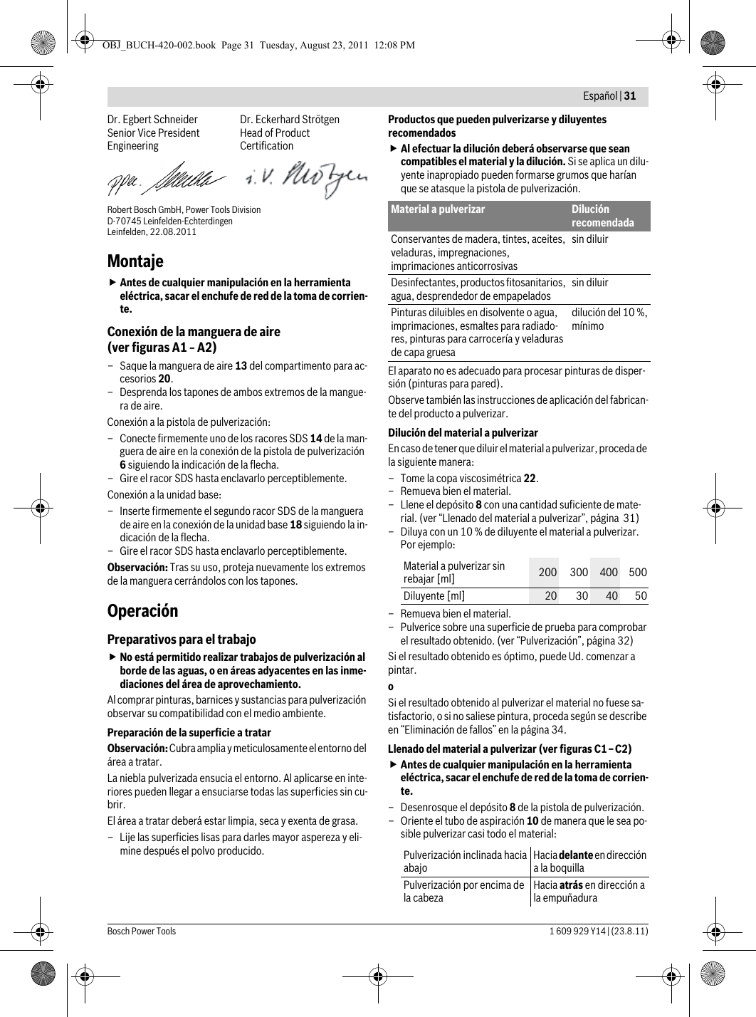 Pfs 105 E Bosch