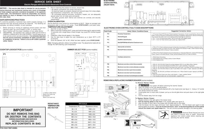 How To Fix Frigidaire Oven Error Code F10 F11 F30 F31 Etc Askgene Com