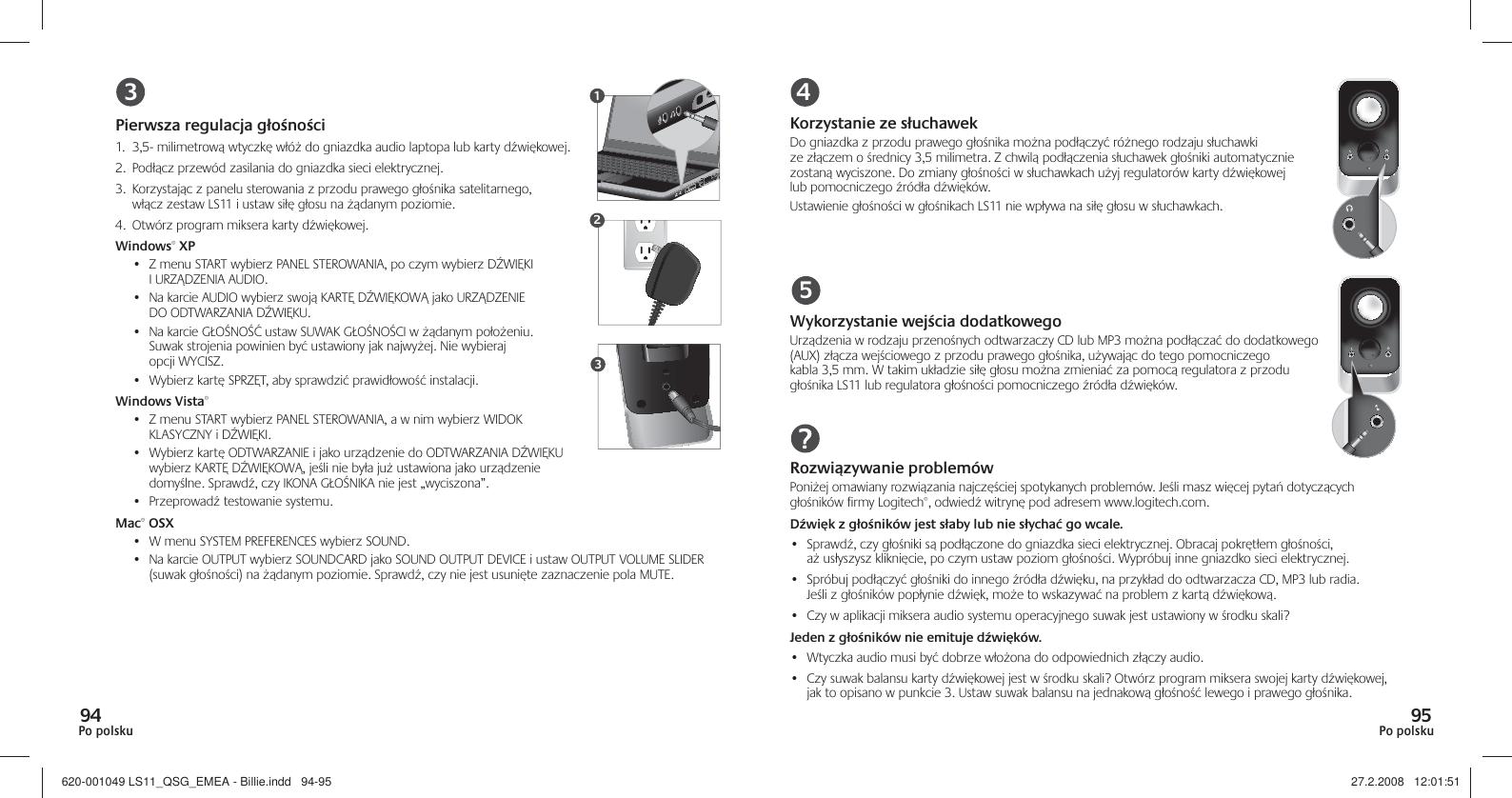 Logitech Ls11 2 0 Stereo Speaker System