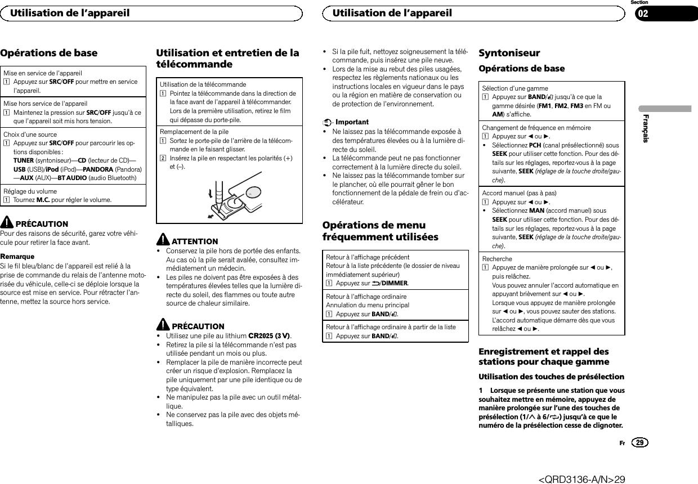 Pioneer Deh Bt Manual