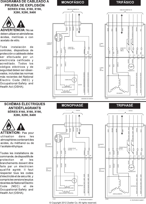 4 Zoeller X292 Wiring Diagram