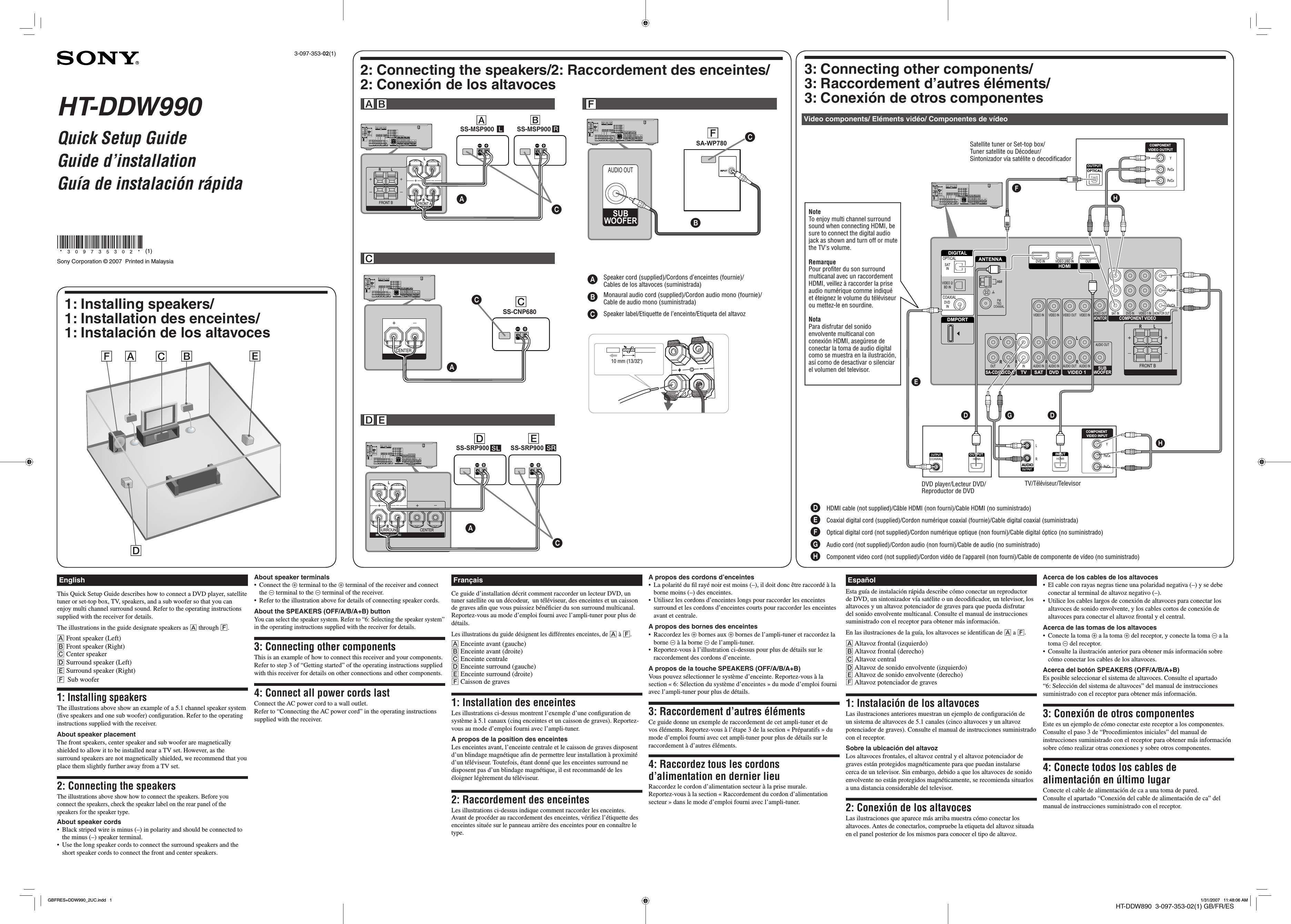 Sony Ht Ddw Wiring Diagram