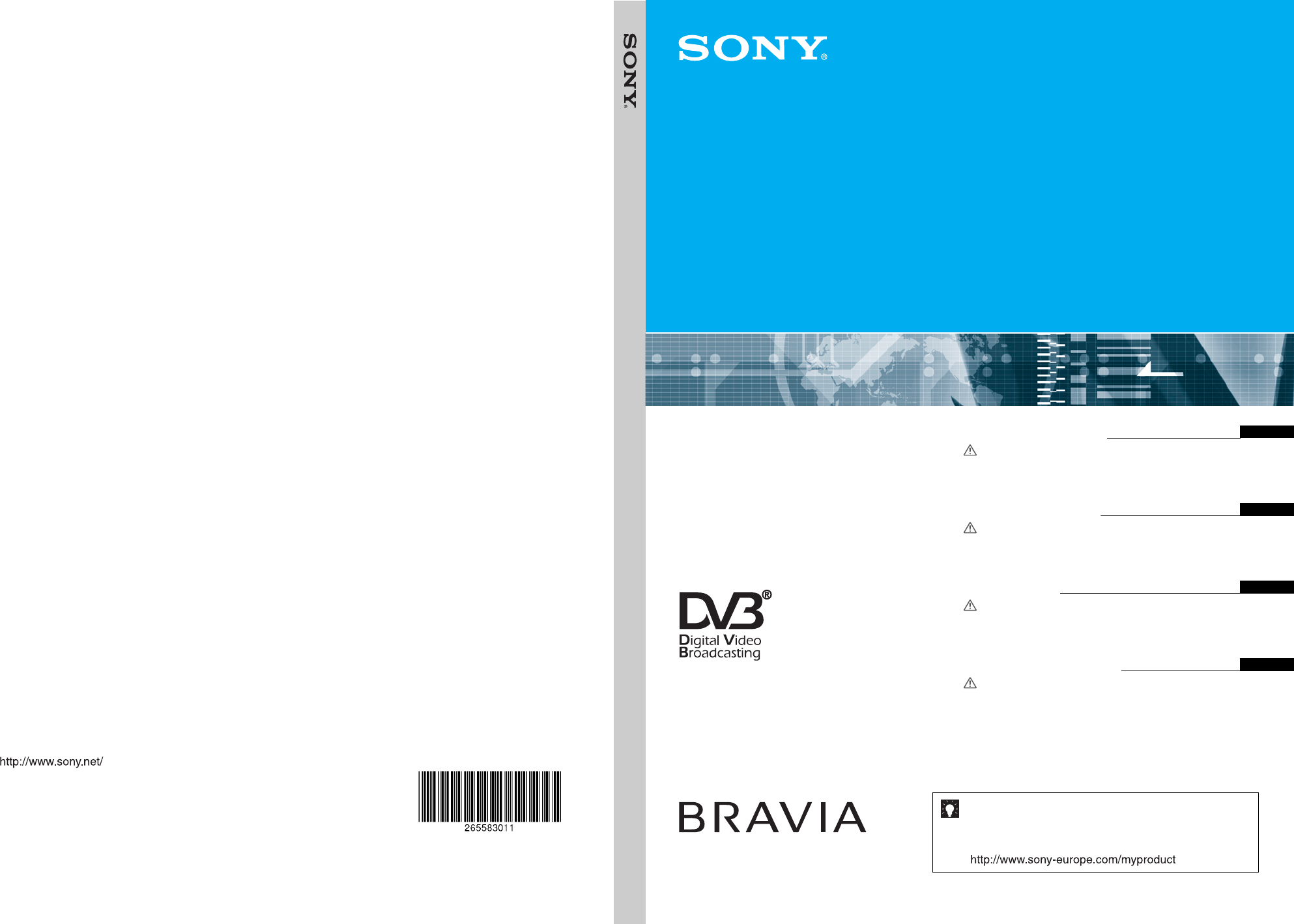 sony bravia kdl s23a11e users manual