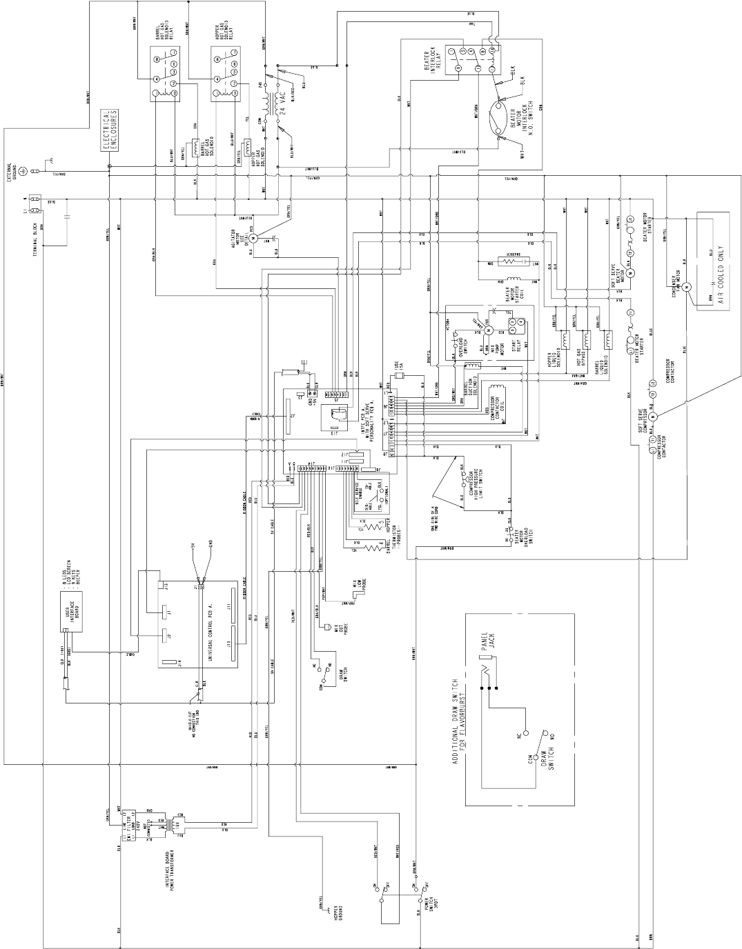 Taylor Switch Panel Wiring Diagram