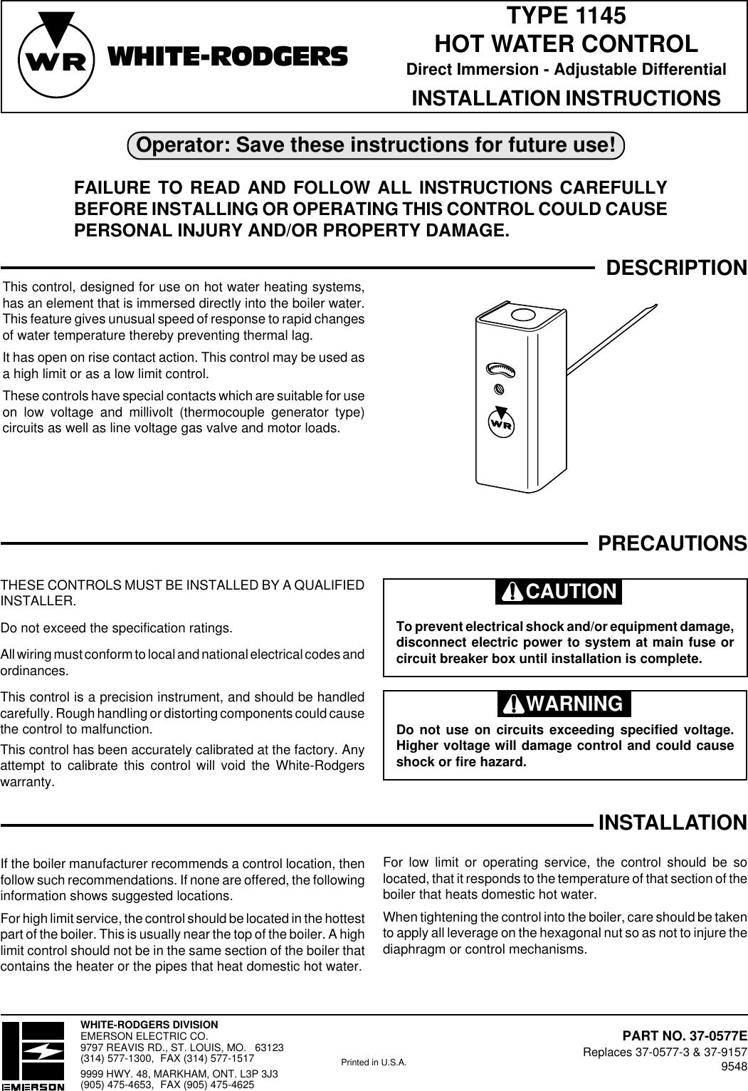 mueller climatrol parts rh homesecurity press on Climatrol Furnace for climatrol  wiring diagram #32 at