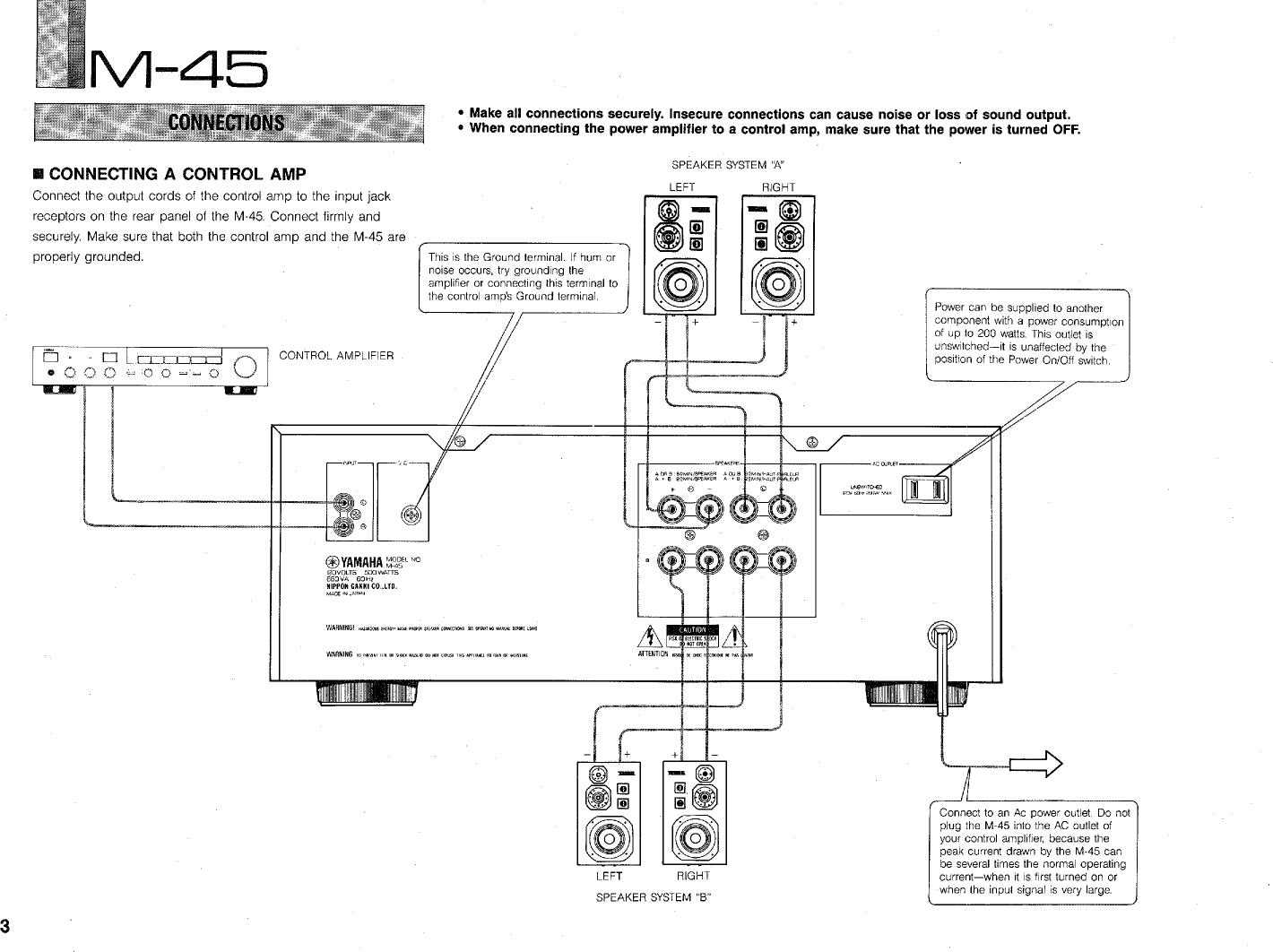 Yamaha Amp Schematic