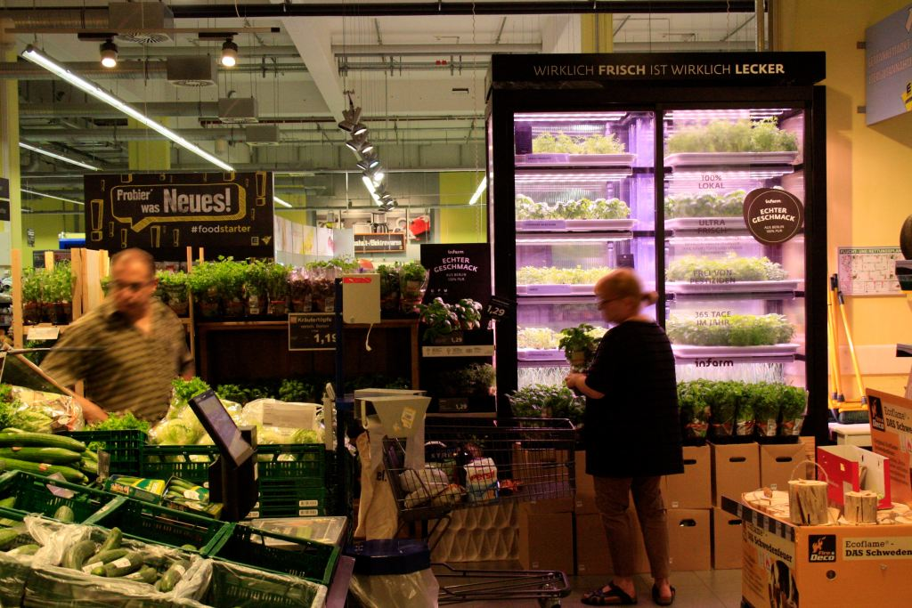 Infarm-Farm: Urban Farming im Supermarkt