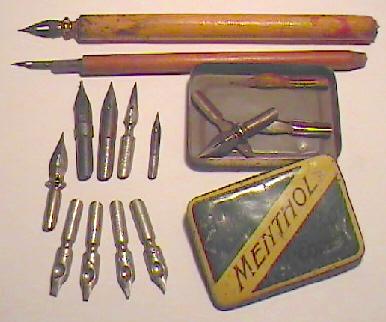 Opa's pennen