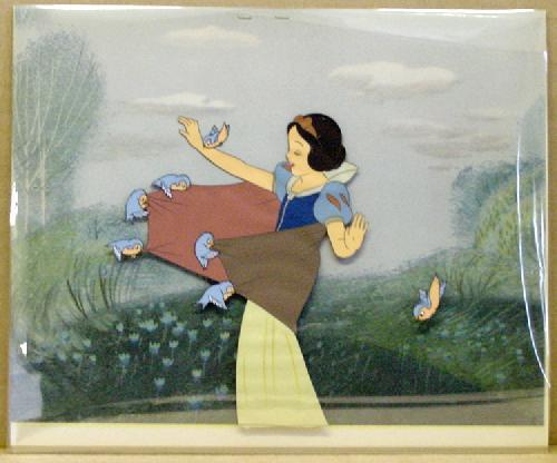 Image result for cel animation snow white