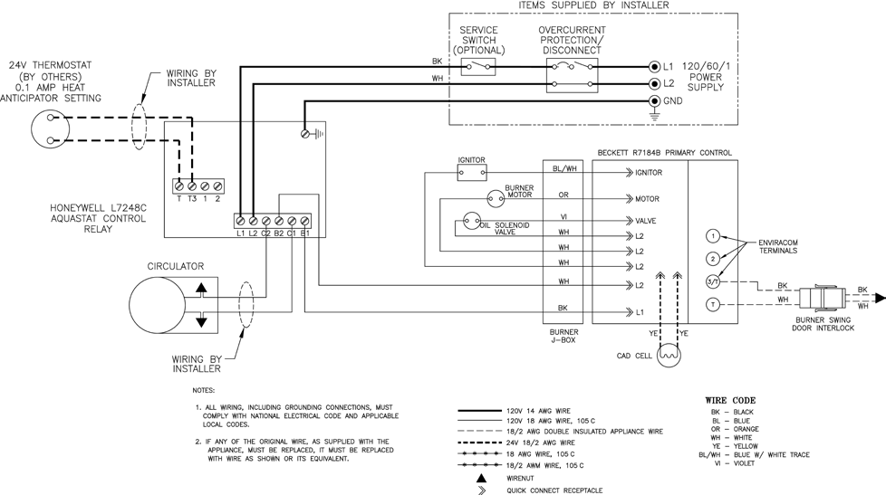 le l7248 manuals 10_1?resize\=665%2C372 wiring diagram for a oil burner heating wiring diagram, basic oil burner controls wiring diagram at mr168.co