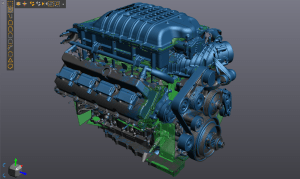 Motor 3D Scan Services