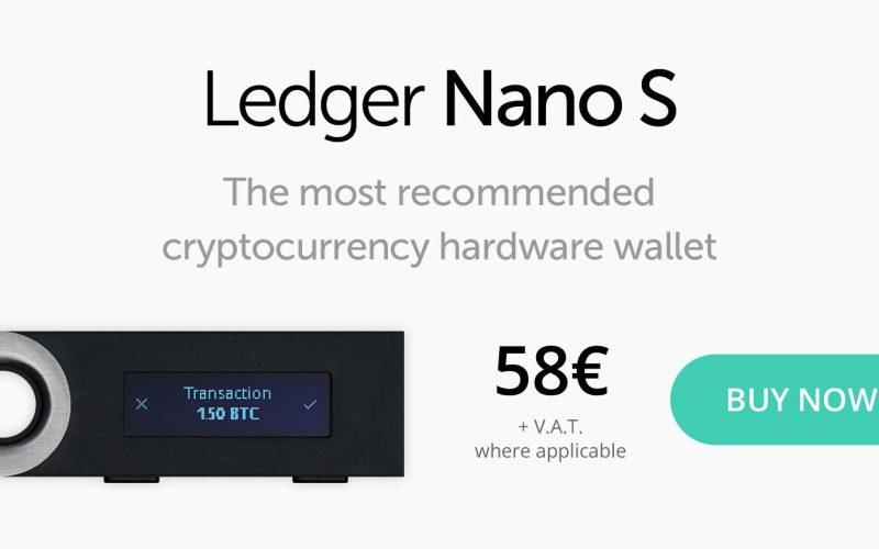 ledger nano s 8 5 0x4 2 0 - Ledger Nano S - 21% Cheaper Between 24-27th November