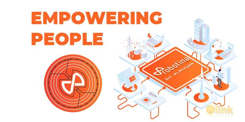634 ico link list robotina thb - Managing Energy with Robotina: Discover Their Major Projects