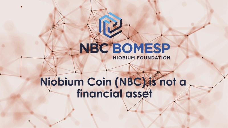 Niobium 7 - Brazilian SEC confirms: digital currency Niobium Coin (NBC) is not a financial asset