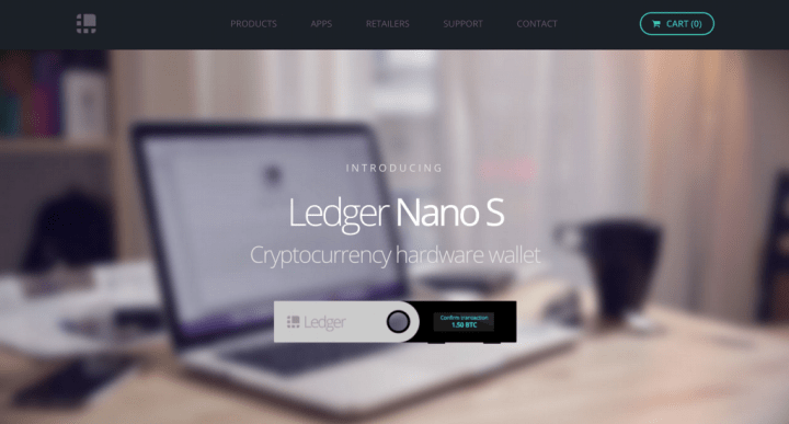 ledger nano s hardware wallet 1024x550 - Top 5 Most Secure Ripple Wallets In 2018