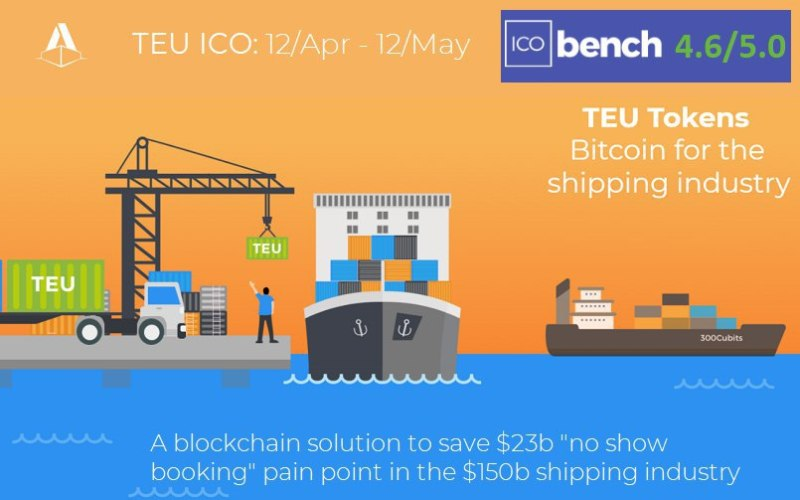 photo5893267456435268757 1 - Blockchain-based Container Shipping Platform 300cubits to start the TEU ICO on 12th April 2018