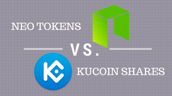 NEO KCS - NEO vs. Kucoin Shares - The Battle of PoS Tokens - Part I