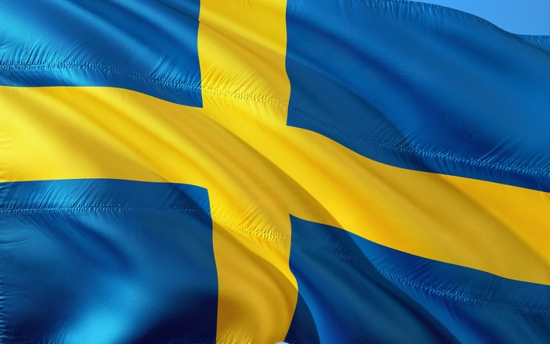 Sweden Flag - Sweden Could Launch a Cryptocurrency (e-Krona) Powered by IOTA