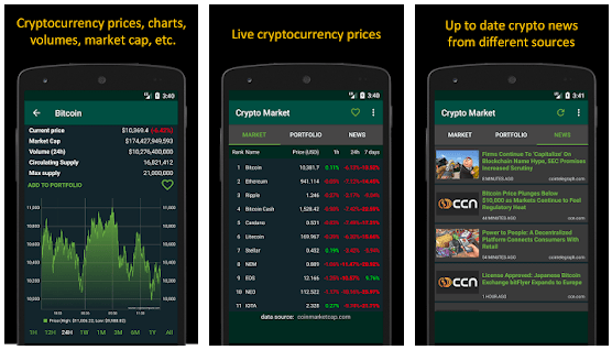 cryptocurrency prices - Top 10 Cryptocurrency Mobile News Apps For 2018