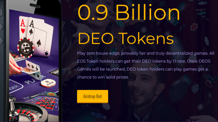 deosgames com - EOS Airdrops and How To Claim Your Free Tokens