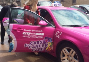 Cover 2 - Pink Taxi. First blockchain based women taxi only