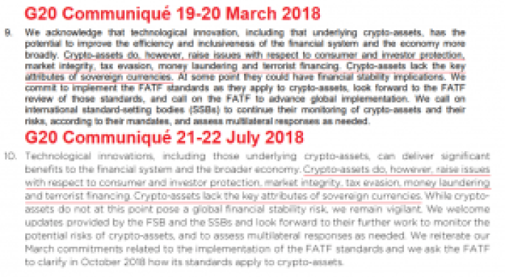 Imagen 1 1 300x165 - What was said about cryptocurrency behind the closed doors of the G20?