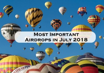 airdrops - Most Important Airdrops in July 2018 [Updated July 7th]