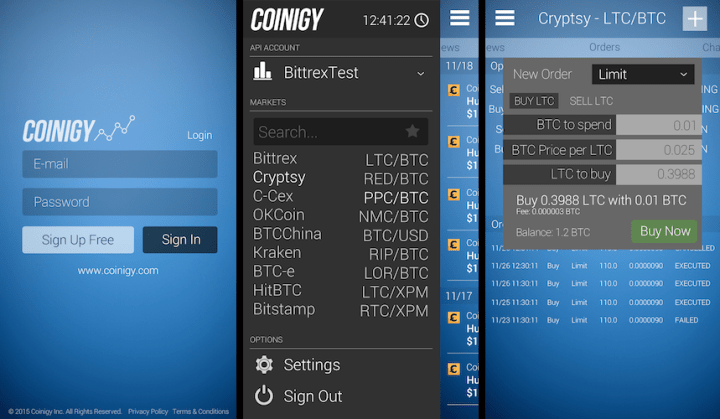 coinigy - Best Five Cryptocurrency Trading Tools