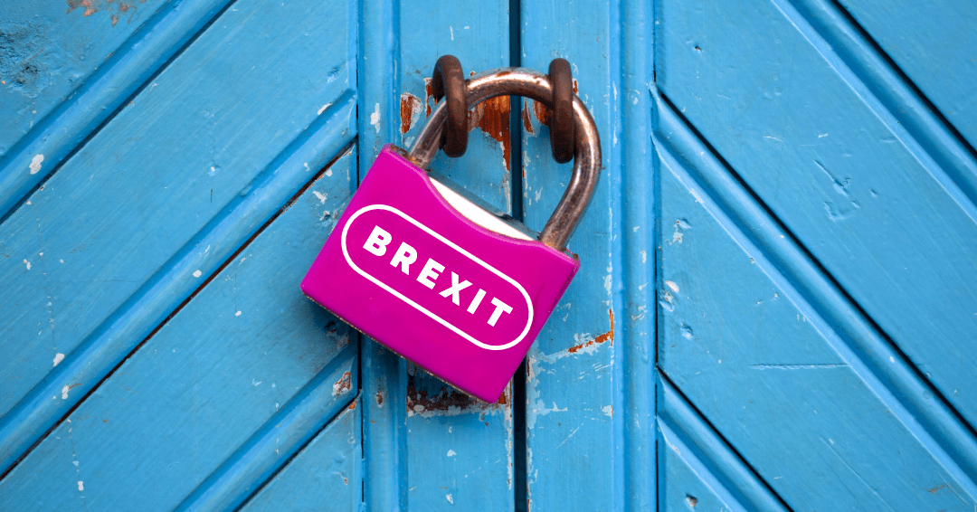 a padlock that says Brexit