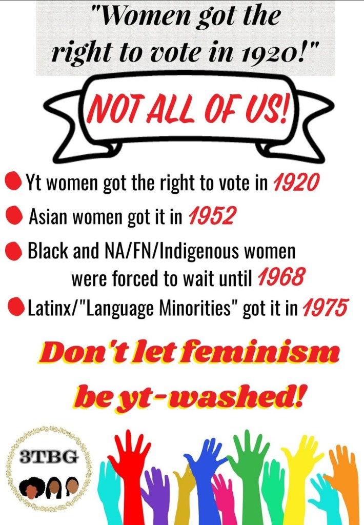 Don't let feminism be yt-washed!